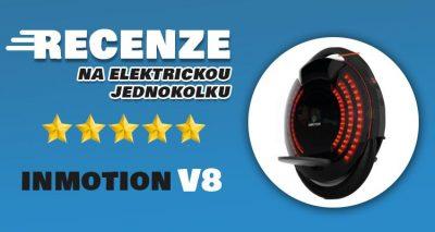 Inmotion V8 recenze - Skvělá elektrická jednokolka ve střední cenové relaci