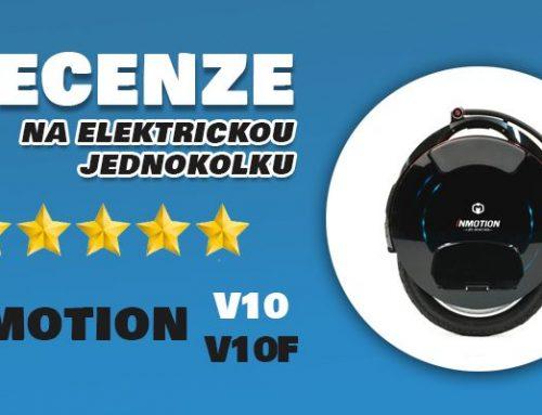 Inmotion V10 a V10F recenze: svými vlastnostmi vás překvapí tyto elektrické jednokolky