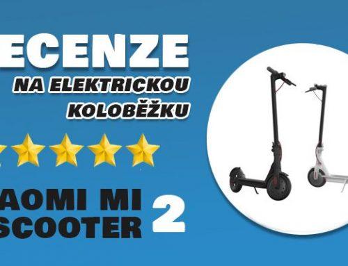 Elektrokoloběžka Xiaomi Mi Electric Scooter 2 recenze: Absolutní skvost ve své cenové kategorii