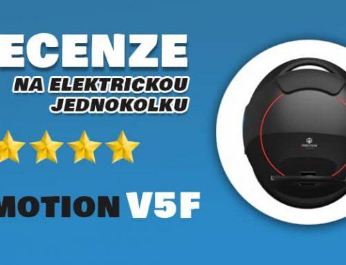 Inmotion V5F zkušenost na vlastní kůži: elektrická jednokolka vhodná pro začátečníky
