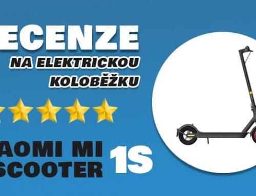 Xiaomi Mi Electric Scooter 1S EU recenze: bezpečná elektrokoloběžka do města