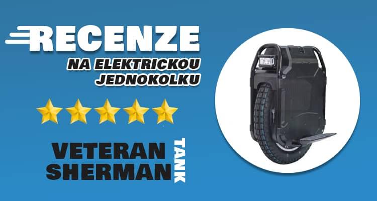 Elektrická jednokolka Veteran Sherman: recenze a zkušenosti